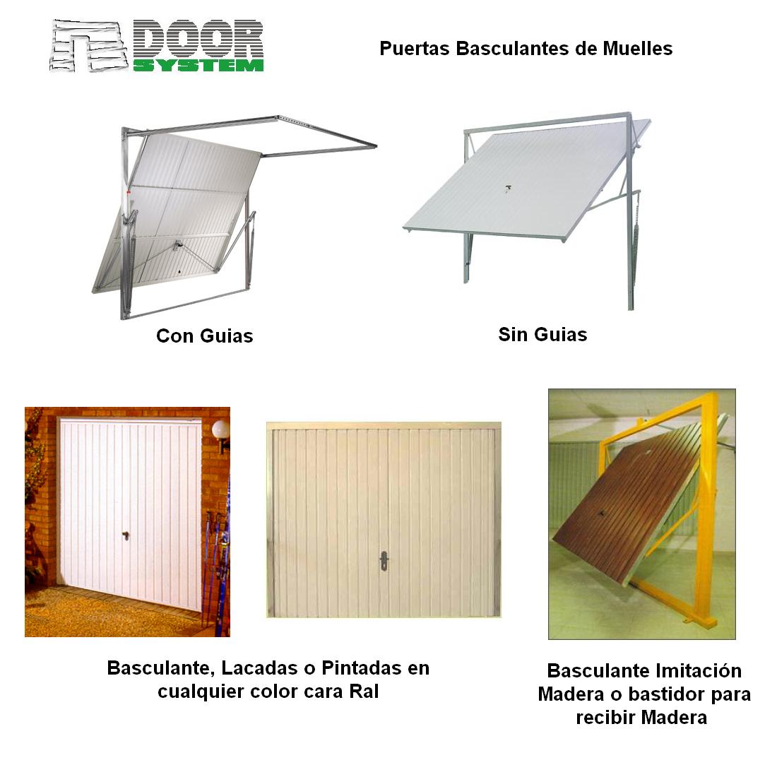 Puertas Basculantes Valencia - Door System S.L.